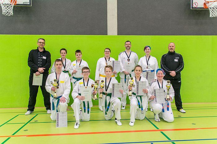 Sensationeller Erfolg der Taekwondo-Sparte des TV Heiligenloh