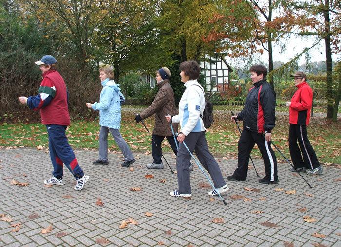 Walking und Nordic Walking im Winterhalbjahr