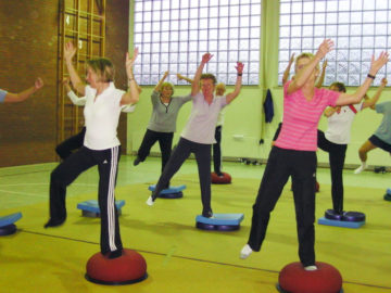 Bodenbeckengymnastik und Pilates