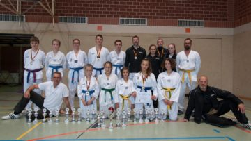 Erfolgreiches Abschneiden der Taekwondo-Sparte des TV Heiligenloh